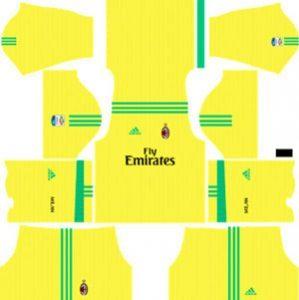 AC Milan GK Away Kit