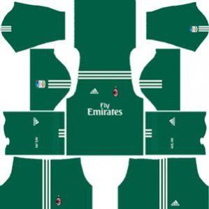 AC Milan GK Home Kit