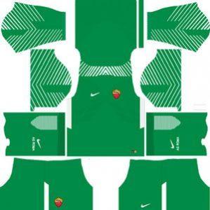 AS Roma GK Away Kit