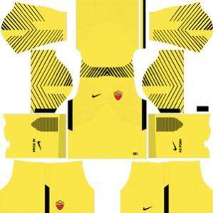 AS Roma GK Home Kit
