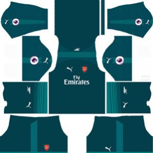 ArsenalGoalkeeperHome Kit