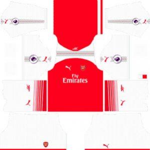 Arsenal Home Kit