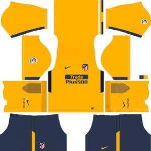 Atletico Madrid Away Kit