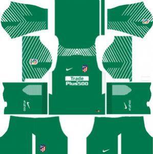 Atletico Madrid GK Away Kit