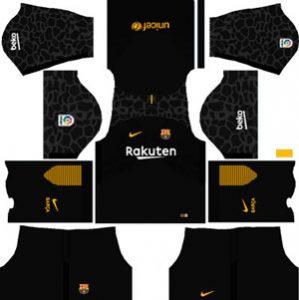 Barcelona GK Away Kit