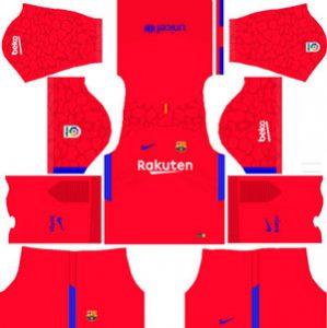Barcelona GK Home Kit