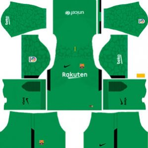 Barcelona GK Third Kit