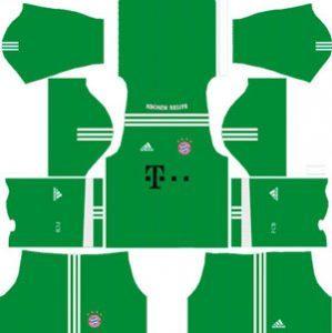Bayern Munich GK Away Kit