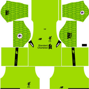 Liverpool GK Third Kit