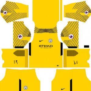 Manchester City GK Away Kit