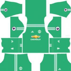 Manchester United GK Away Kit