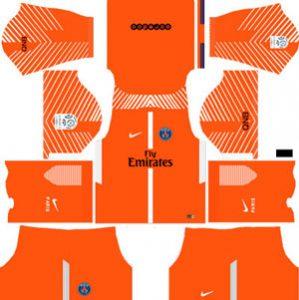 Paris Saint Germain GK Home Kit