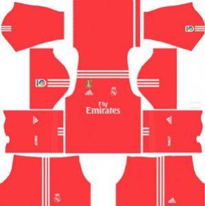 Real Madrid GK Away Kit