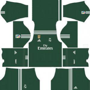 Real Madrid GK Home Kit