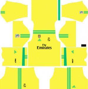 Real Madrid GK Third Kit