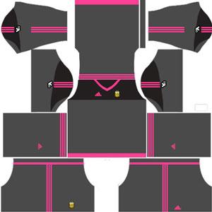 Argentina Goalkeeper GK Away Kit