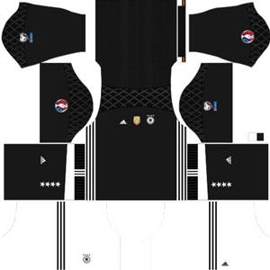Germany Team Goalkeeper (GK) Home Kit