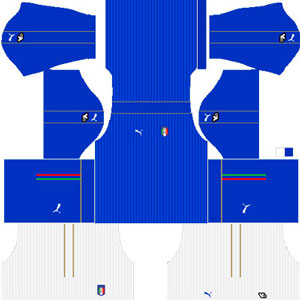 Italy Team Home Kit