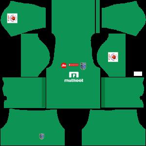 Kerala Blasters FC GK Away Kit