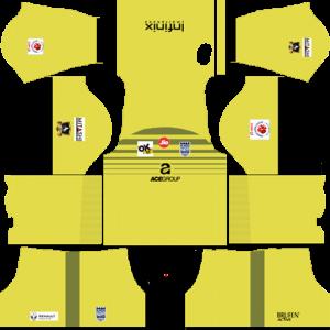 Mumbai City Home Goalkeeper Away Kit