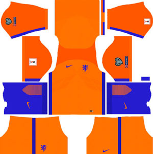 Netherlands Team Home Kit