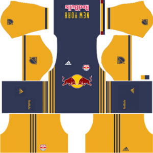 New York Red Bulls Team Away Kit