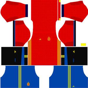 Spain Team Home Kit