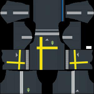 Sweden Team Away Kit