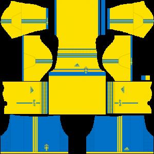 Sweden Team Home Kit