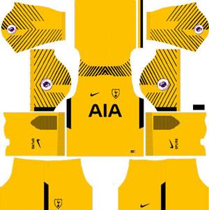 Tottenham Hotspur GK Home Kit
