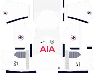 Tottenham Hotspur Home Kit