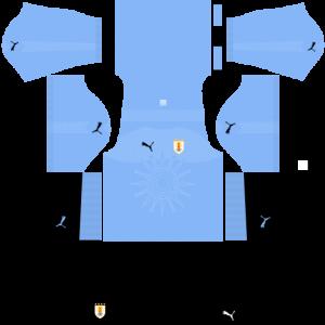 Uruguay Team Home Kit