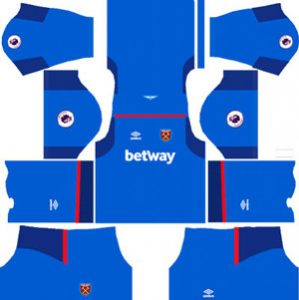 West Ham United GK Away Kit