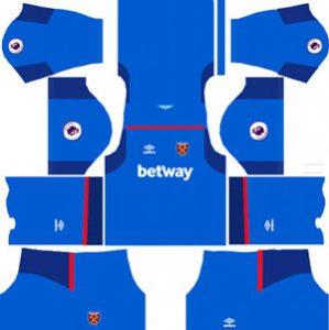 West Ham United GK Away Kit